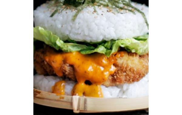 B18 Burger Chicken Frit