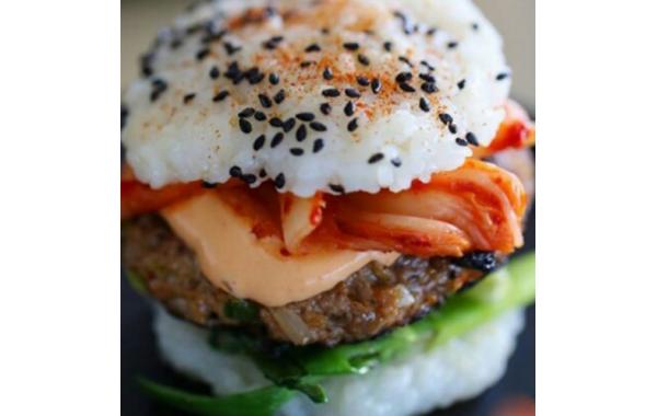 B20 Burger Boeuf Chou épicé