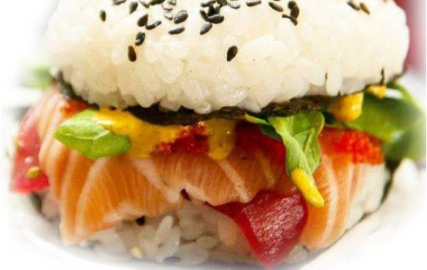 B21 Burger Sushi Saumon Thon